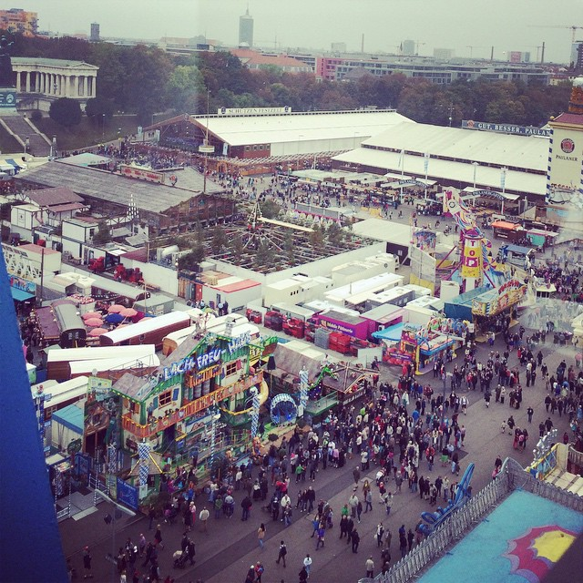 #oktoberfest #Munich  (at Oktoberfest)