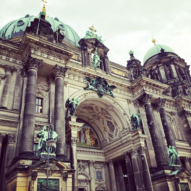 #Berlin #architecture (at Berlina Dom)