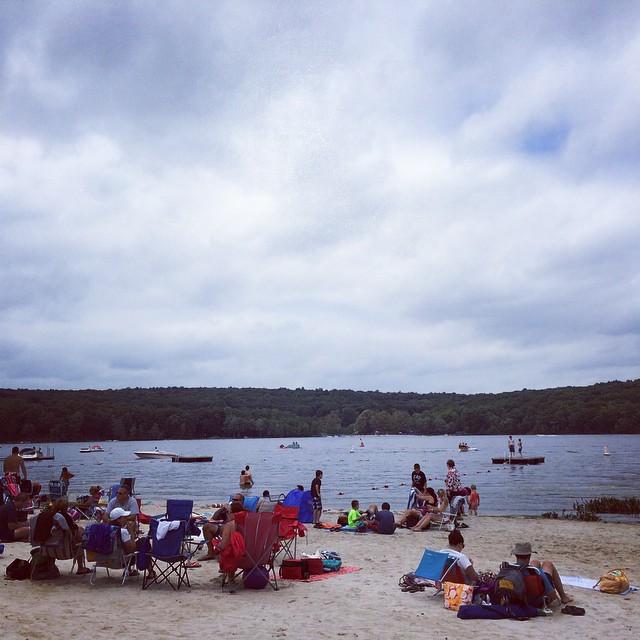 #lake time! (at Masthope Lake)