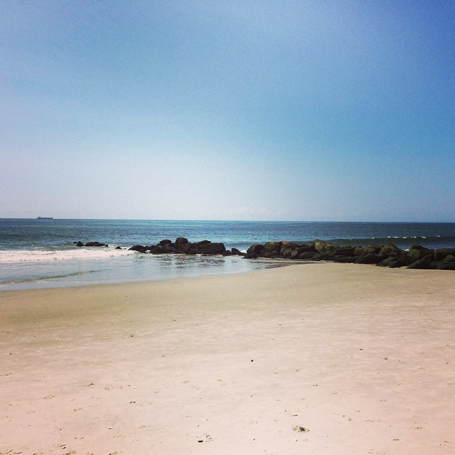 Beautiful #summer #beach day!! Fun in the sun! (at Long Beach, Li)