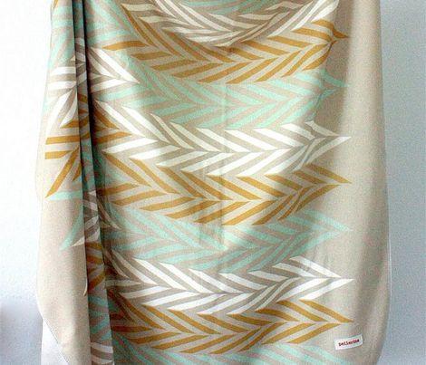 Custom fabric & wall paper:  www.spoonflower.com