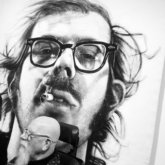 #chuckclose @pacegallery #nyc #art legends (at Pace Editions)