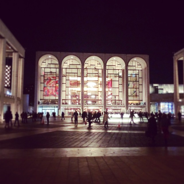 A wonderful evening, #NYCBallet at #LincolnCenter  (at David H Koch Theater at Lincoln Center)