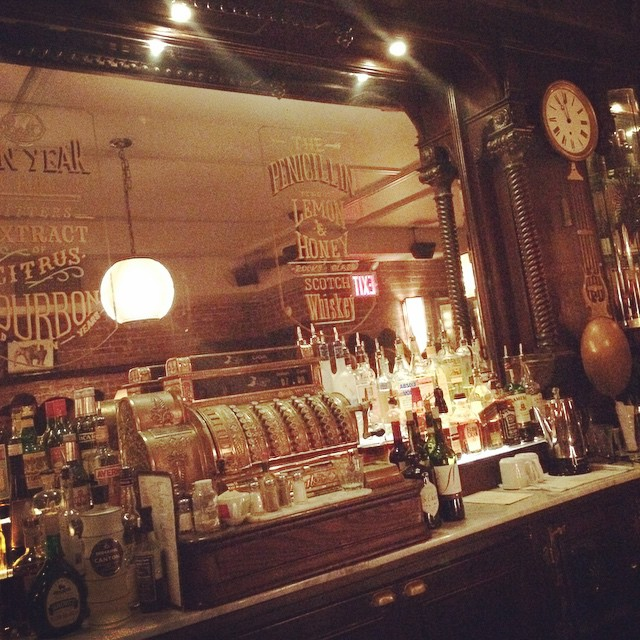 #NYC #vintage #bar (at The Bar Room)