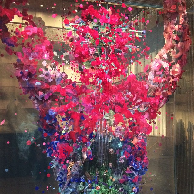 #DustinYellin #art #sculpture #collage at @lincolncenter #NYC #NYCBallet  (at David H Koch Theater at Lincoln Center)