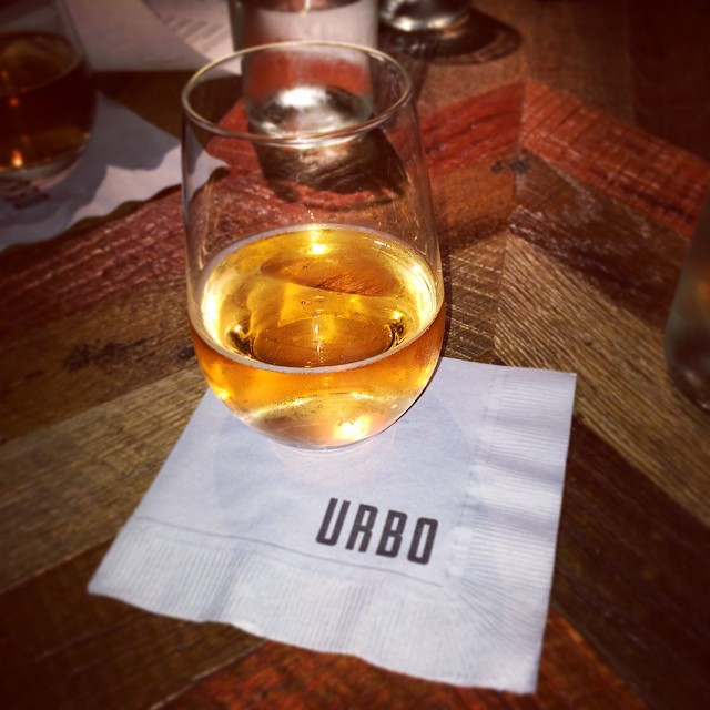 Enjoying #lunch at @urbonyc ! #timessquare #nyc #foodie #wine #urbo (at Urbo NYC)