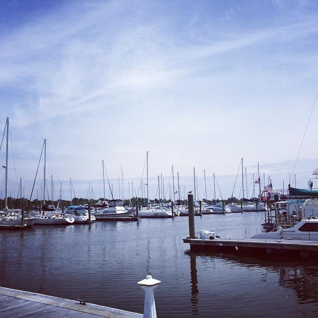 #sailing #ny (at Marine Parkway-Gil Hodges Memorial Bridge)