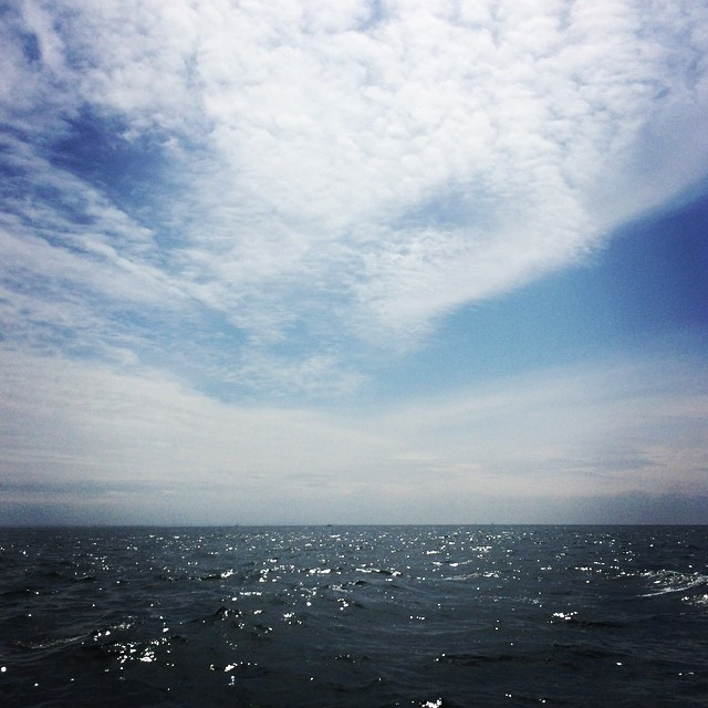 Freedom on the #ocean… #sailing #heaven (at The Atlantic Ocean)