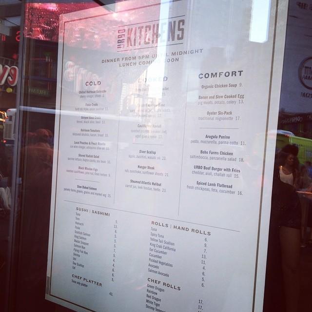 Yummy new menu at #urbo @urbonyc  (at Urbo NYC)