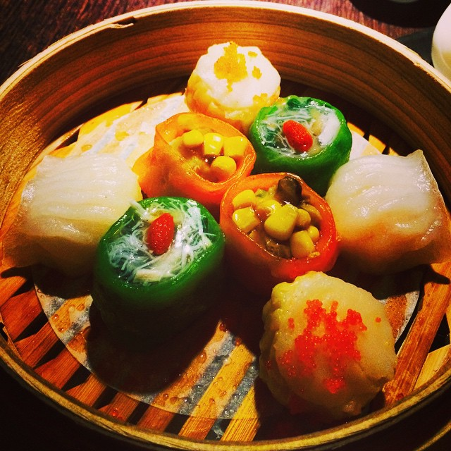 Girls dinner! #dumplings #hakkasan #nyc #foodie  (at Hakkasan New York)