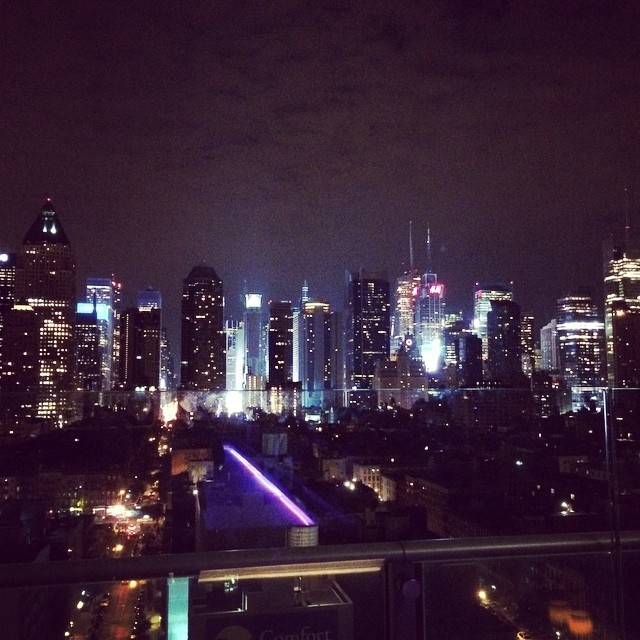 #nyc #city #nights (at the Press Lounge)