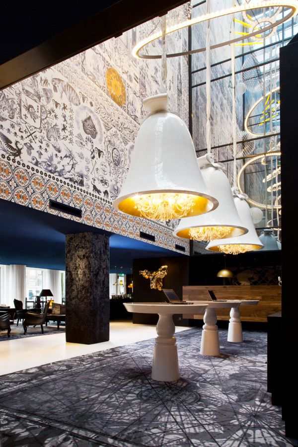 A Modern Hotel in Amsterdam with Dutch History     Andaz Amsterdam Prinsengracht, an enchanting hotel right on a canal that is the vision of legendary designer Marcel Wanders.