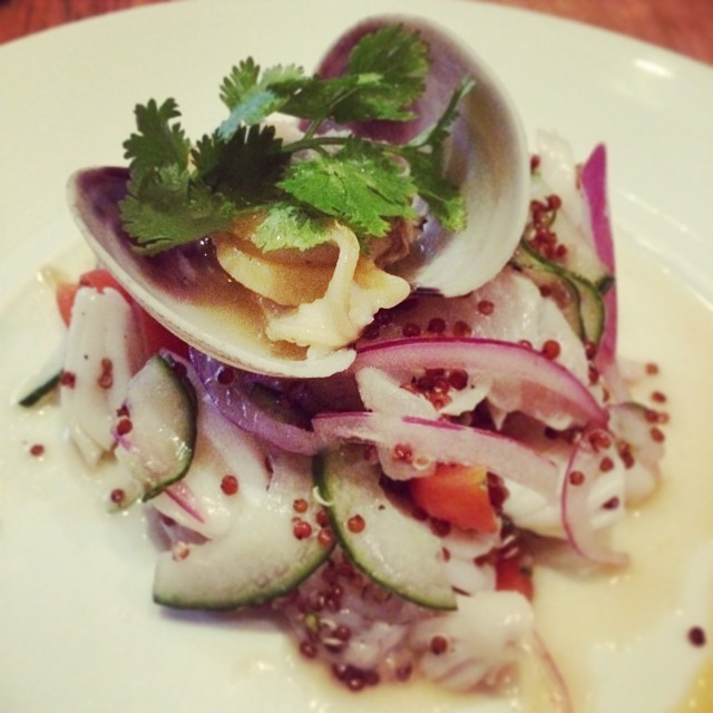 #ceviche so yummy! #nobu #foodie #nyc  (at Nobu Tribeca)