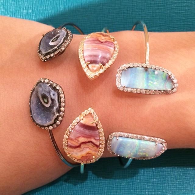 bergdorfgoodman :     Stack em up! @kimberlymcdonaldjewelry 2128728744 (at Bergdorf Goodman)