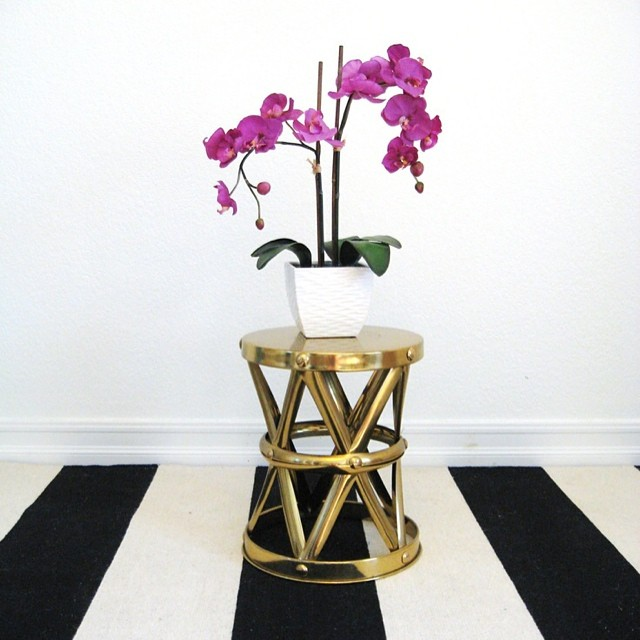 #interior #design inspiration | clean lines + #orchids (at New York, New York)