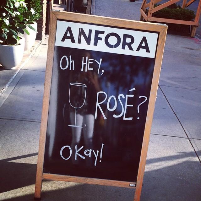 Allora… (at Anfora NYC)
