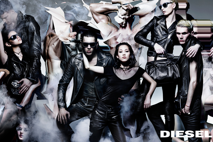 "10magazine: DIESEL: A/W14 CAMPAIGN Say hello to Nicola Formichetti's latest ad campaign for Diesel shot by Nick Knight. It's got the drama and composition of a Renaissance painting and the skewed perspective of a Cubist and the digital genius of SHOWstudio – oh and the smoke machine of a 1980s music video. A melting pot of visual reference, no?  ""I wanted to portray a new community, a new kind of tribe,"" Formichetti told Style.com, ""We were looking at the Sistine Chapel, Michelangelo, Picasso, and Avedon. These images are neo-neo-classical. They're an homage to the digital world juxtaposed with the classics."" Photographer: Nick Knight Stylist: Nicola Formichetti diesel.com By Ted Stansfield"