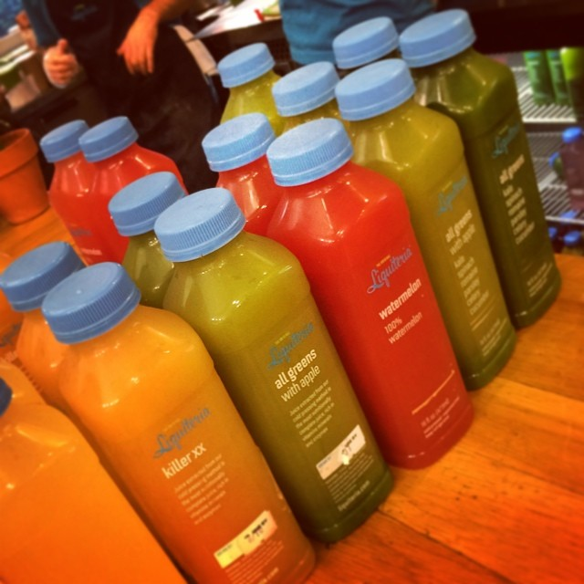 Excited to start my @liquiteria 3 day juice cleanse! (at Liquiteria)