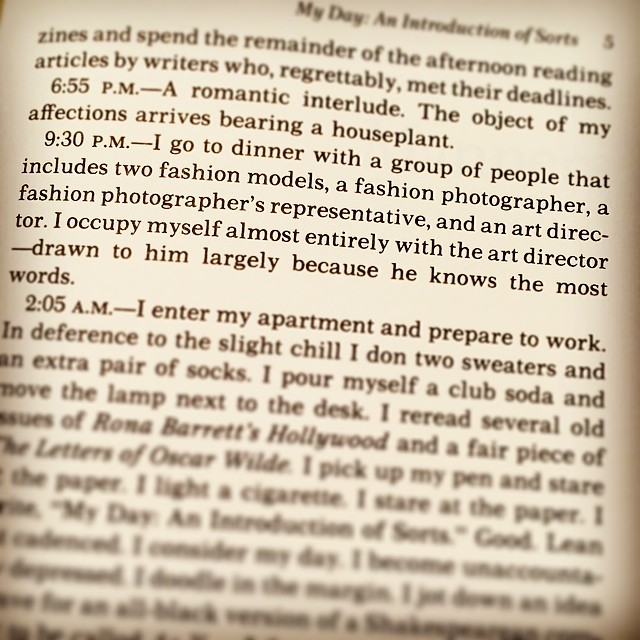 excerpt from… The Fran Lebowitz Reader… Gotta love #nyc & art directors!! (at NewYork City)