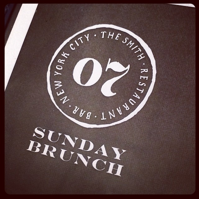 Sunday #brunch #nyc  (at The Smith)