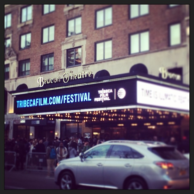 Opening night #tribeca #film #festival! time is illmatic, movie screening #nas #tff (at Beacon Theatre)