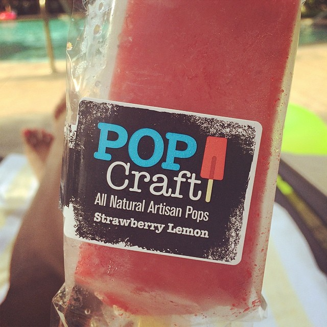 Pop Craft artisan Popsicles, yummy! #popcraftpops #pops #foodie