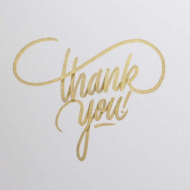 "typeverything: Typeverything.com ""Thank you!"" by itsaliving."