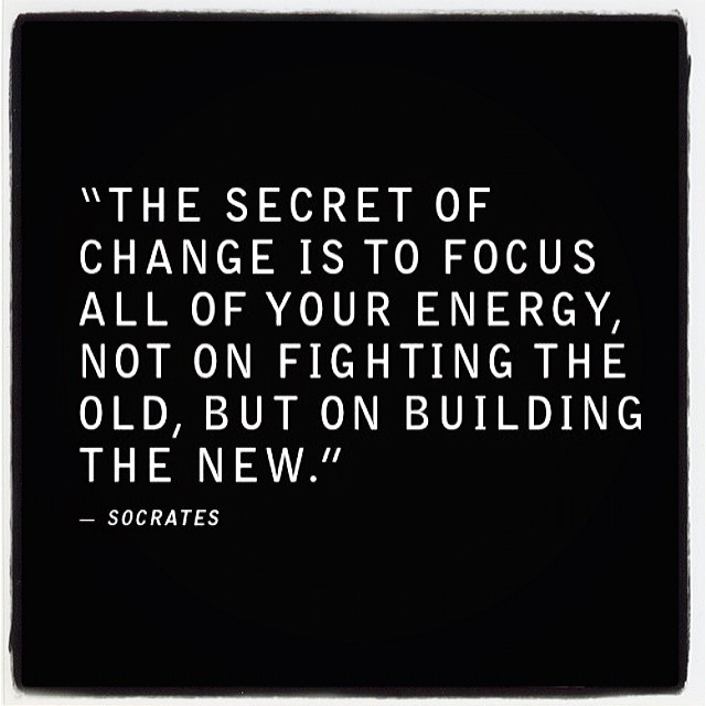 #change is good (at New York)