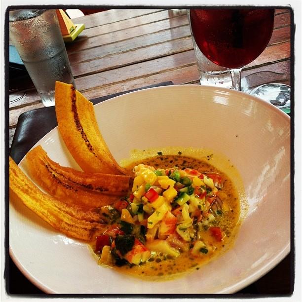 @sushisamba shrimp seviche (at SUSHISAMBA dromo)