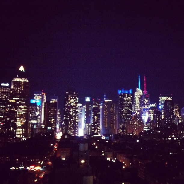 #nyc nights #skyline (at The Press Lounge)
