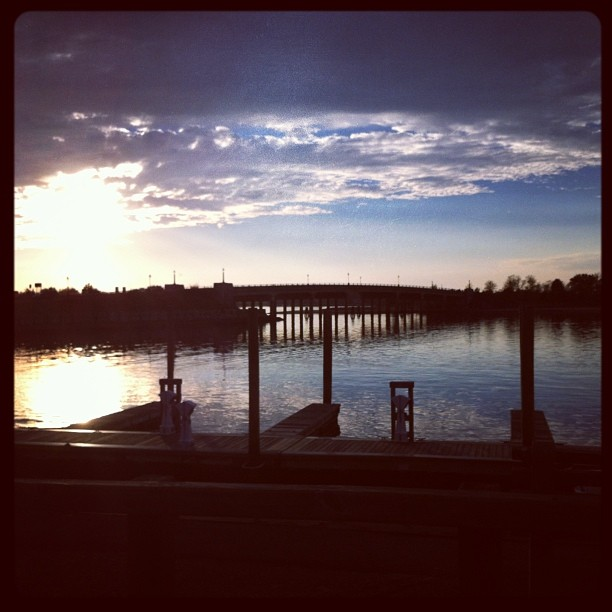 #Hamptons #sunset  (at Sag Harbor, NY)