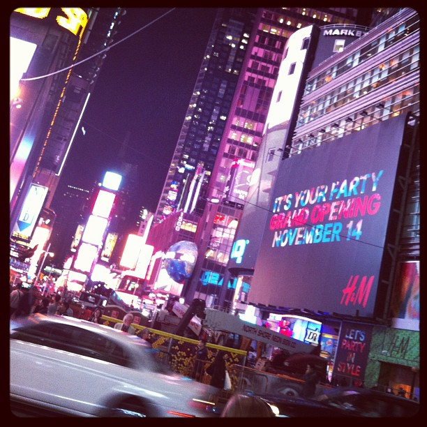 Times Square… Really what is this? … And how did we get here? (at Times Square)