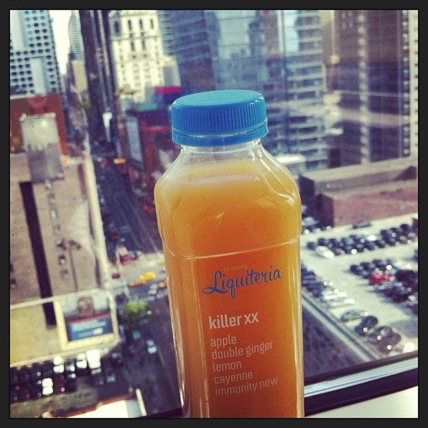 Our office is enjoying Killer XX, just delivered by @Liquiteria !! #liquiteriajuice (at Times Square)