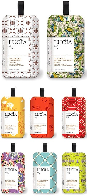 Lucia Soap Packaging
