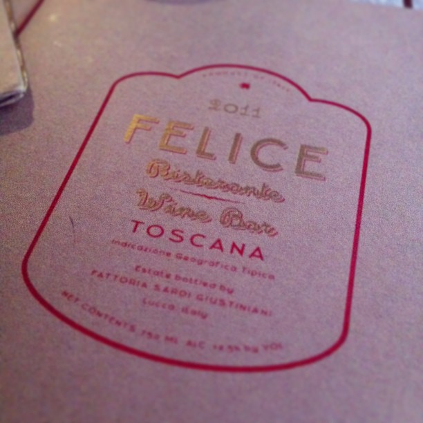 at Felice 83