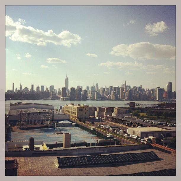 Beautiful summer day in #Brooklyn  (at Wythe Hotel)