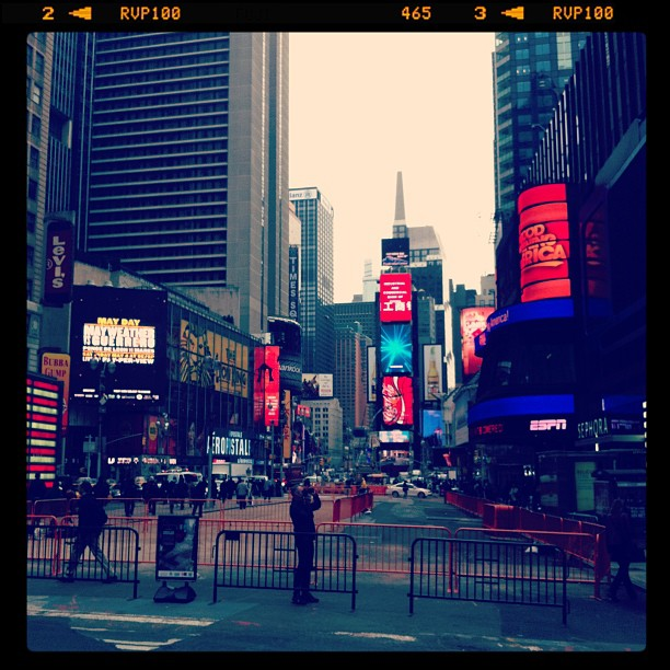 My morning commute… (at Times Square)