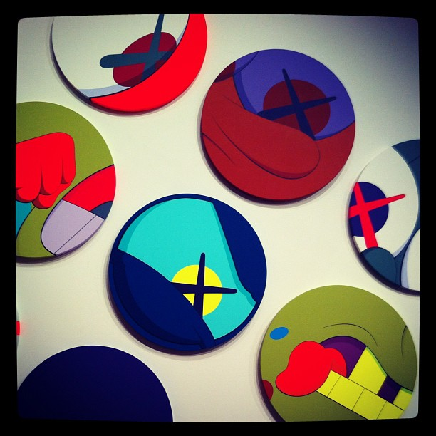 Kaws exhibit at the High. (Taken with Instagram)