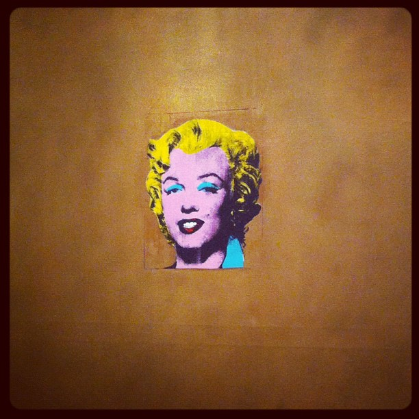 Andy Warhol - Gold Maralyn #moma (Taken with Instagram)