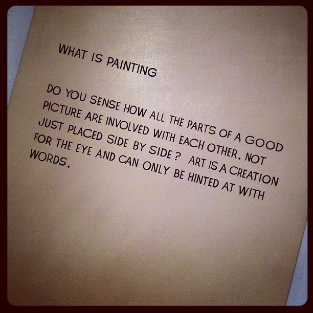What is painting? (Taken with Instagram)
