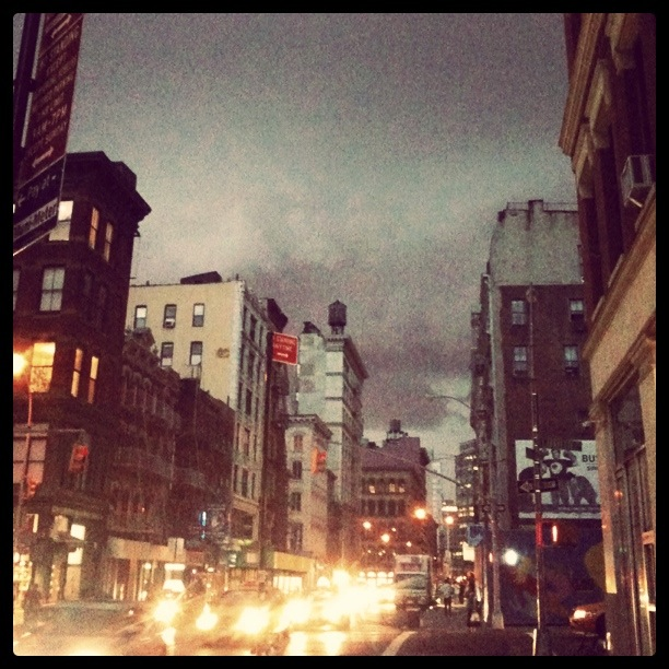 instacity: Gotham City / Grand St / NoLita. NYC / 07.26.11 / 8:41PM