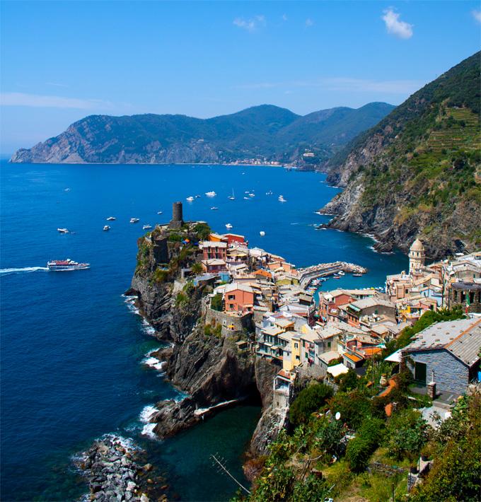 Rocky Village, Vernazza, Italy