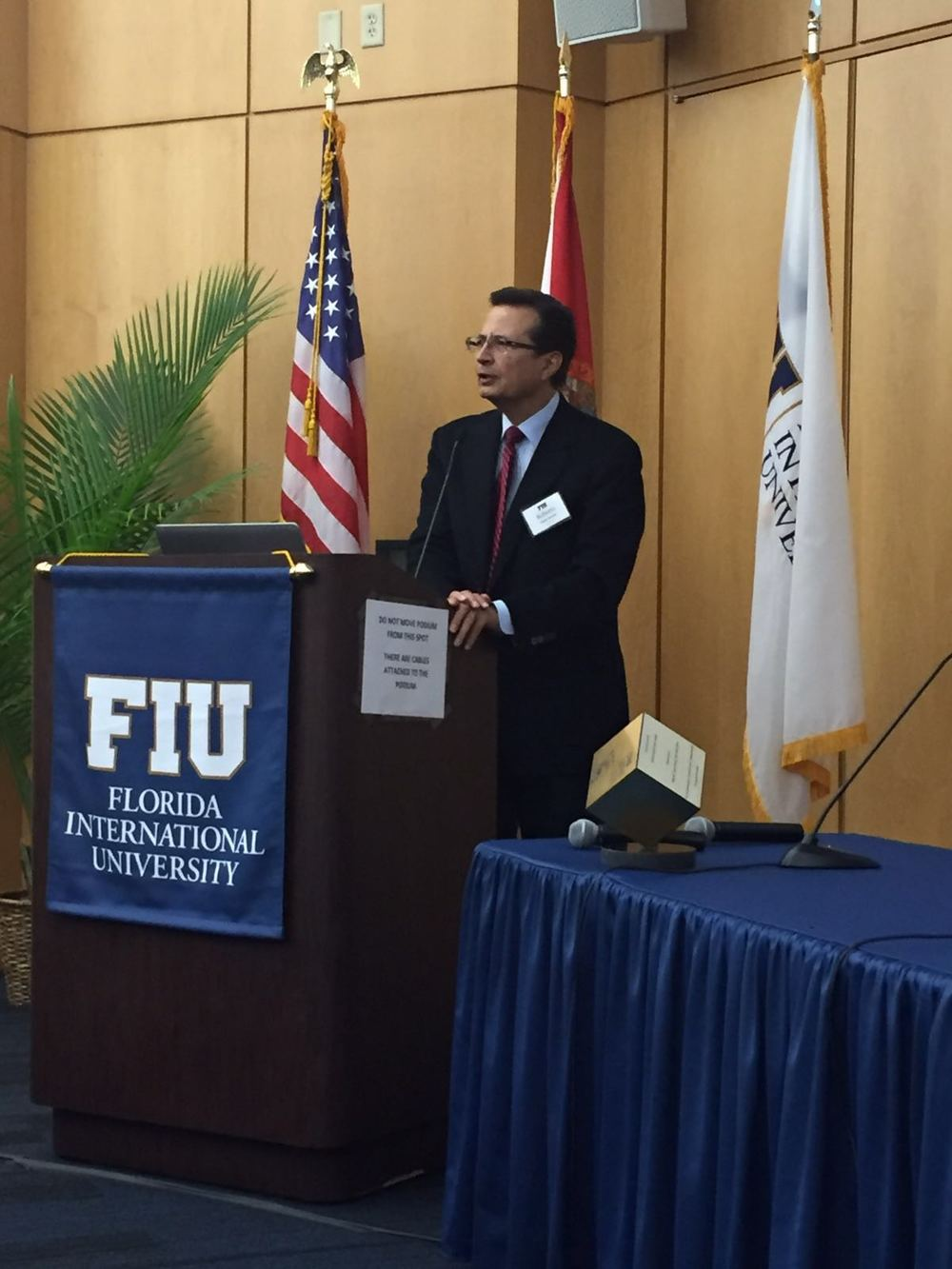 Florida International University. Dr. Tapia-Conyer