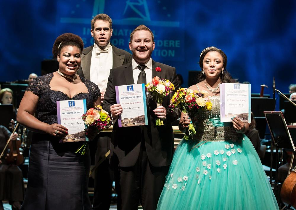 Winners of the 35th Belvedere International Competition 2016