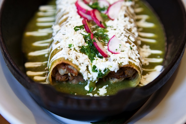 Dish of the day: Enchiladas de Pollo