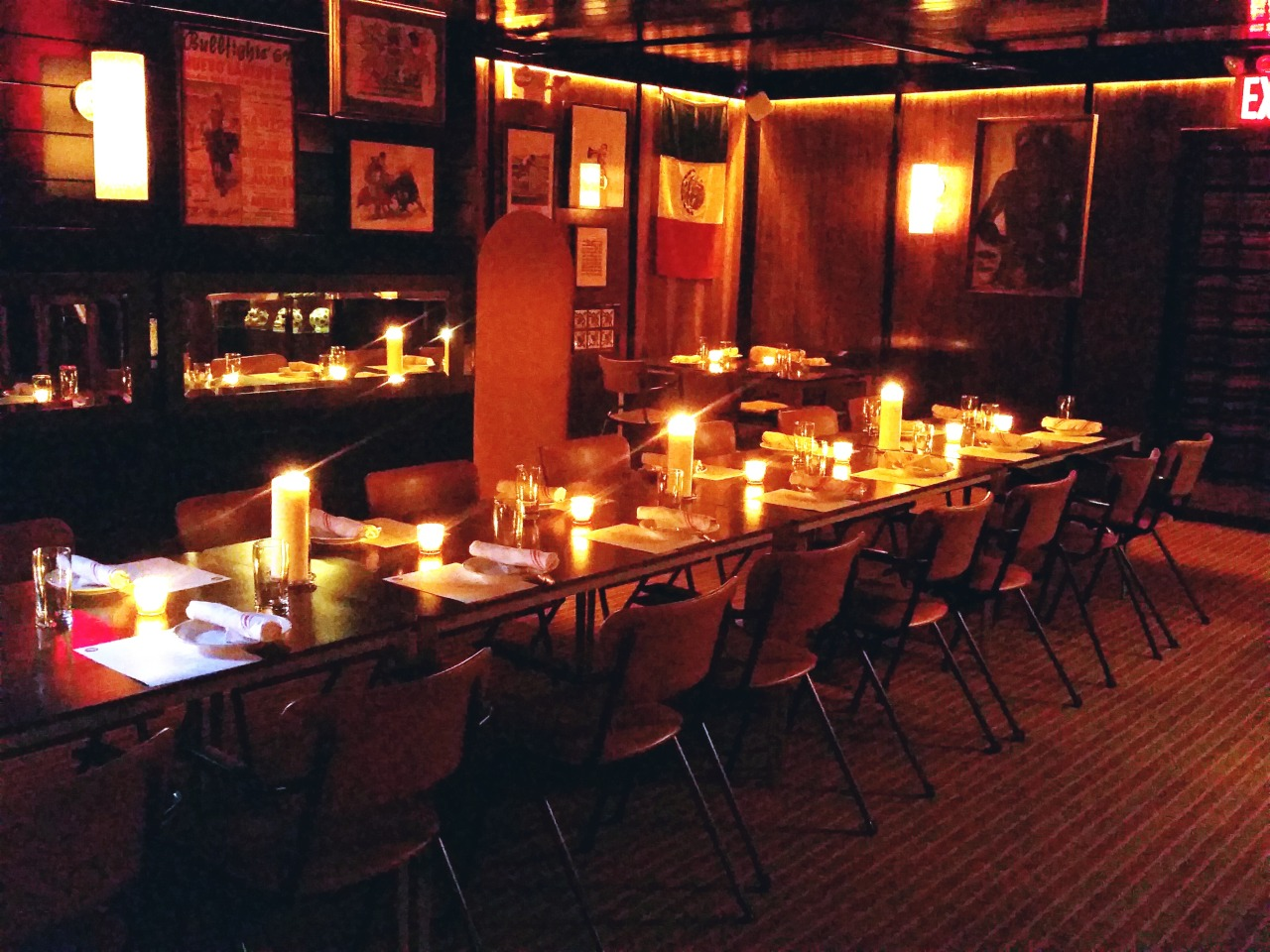 I el toro blanco mexican restaurant bar tequila bar for Best restaurants with private dining rooms nyc