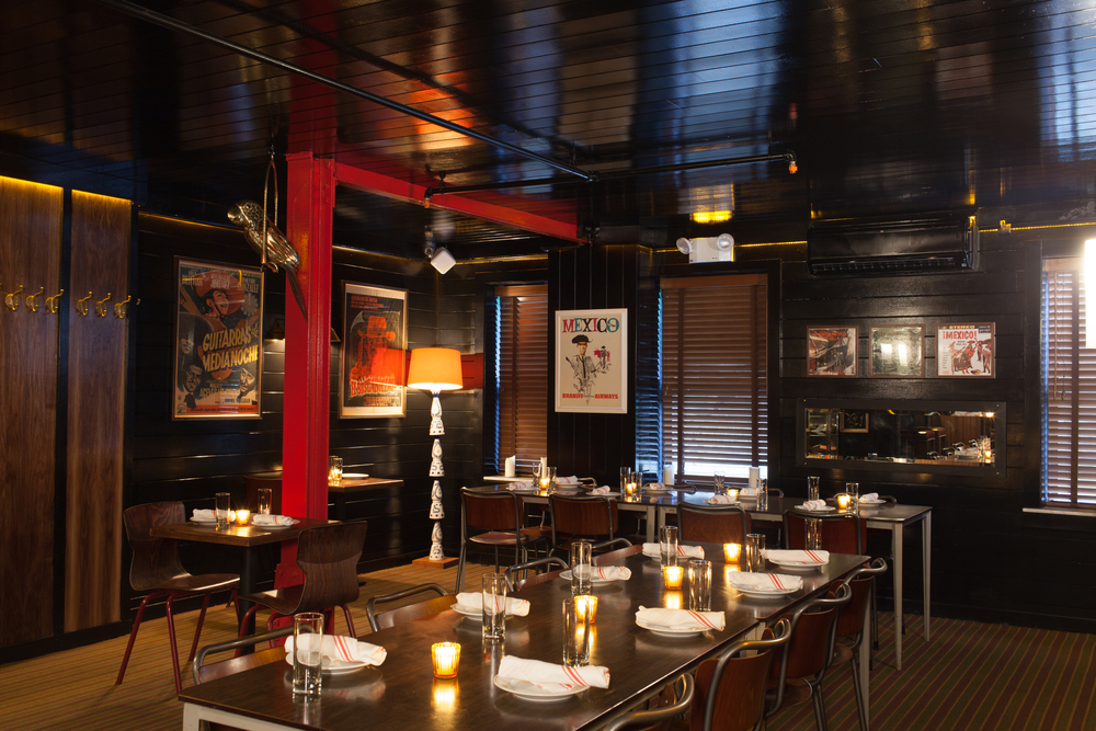 Superbe El Toro Blanco Best Mexican NYC New York Private Dining Room