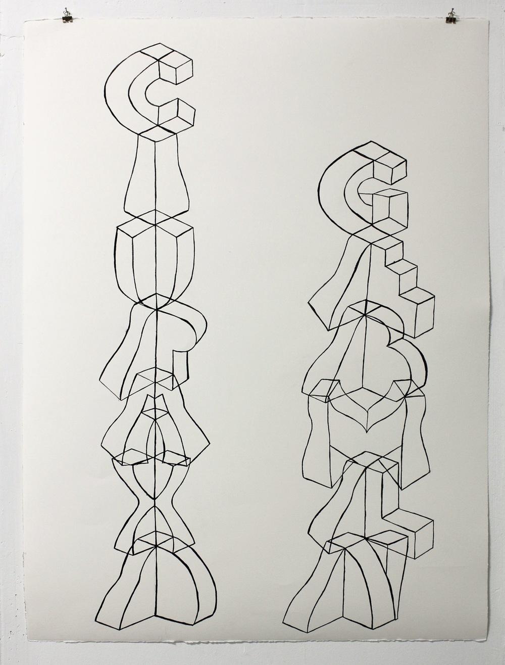 Eknæs Alphabet Study II  , 2013