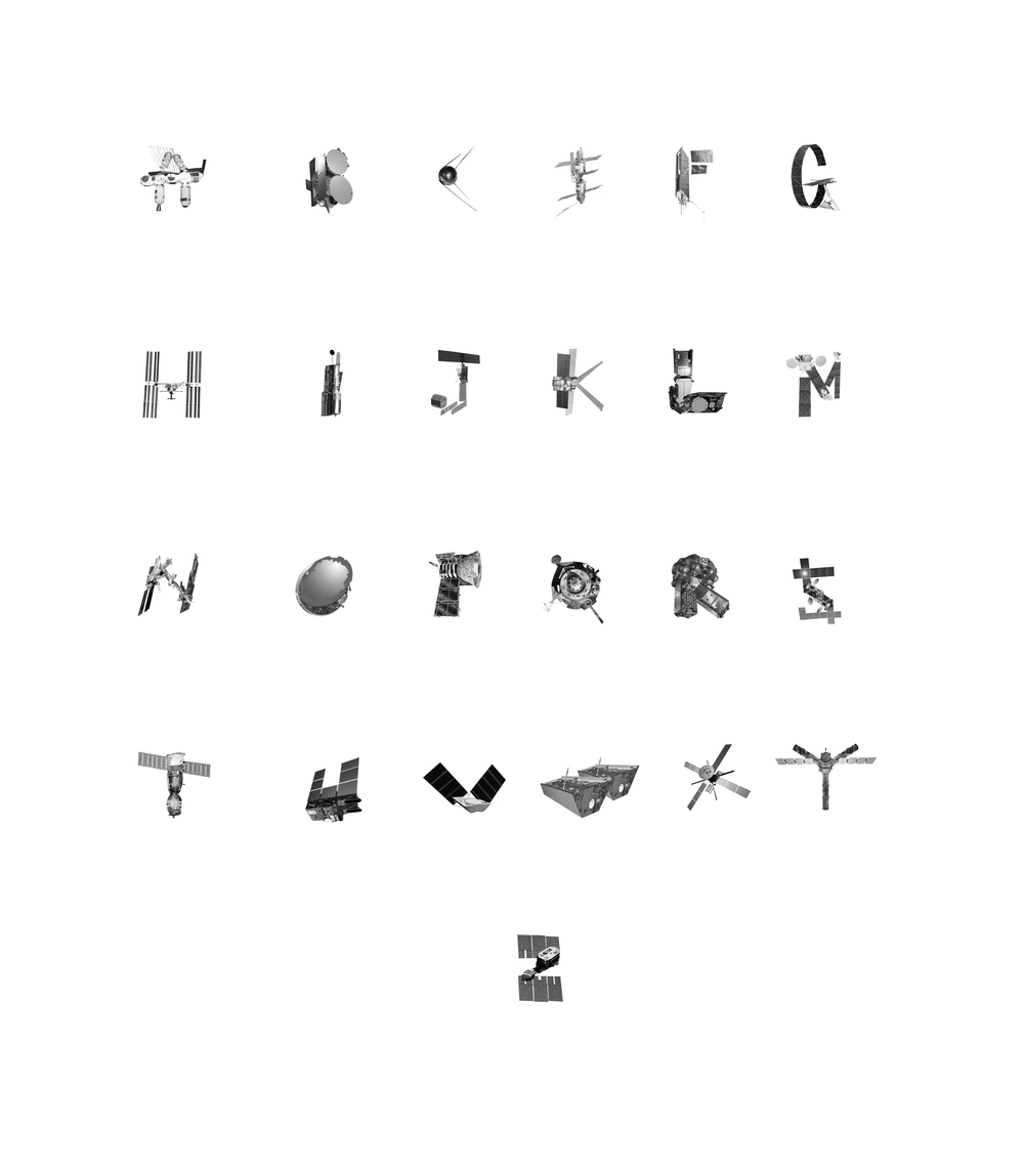 CRAFT ALPHABET FOR HOOD BY AIR