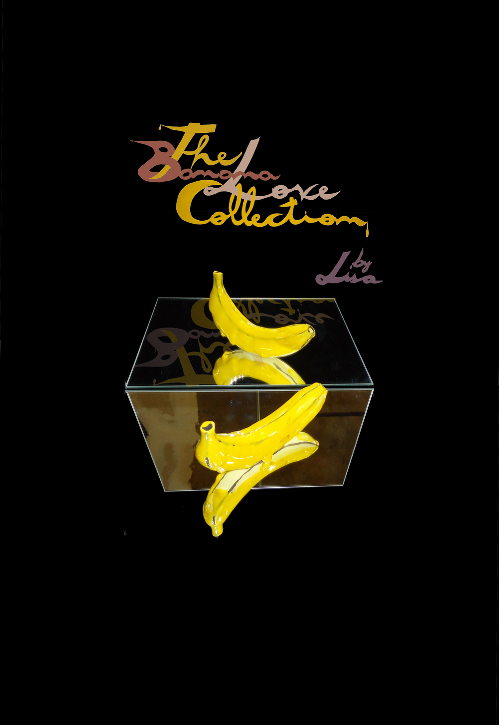 THE BANANA LOVE COLLECTION BY LISA POSTER ART